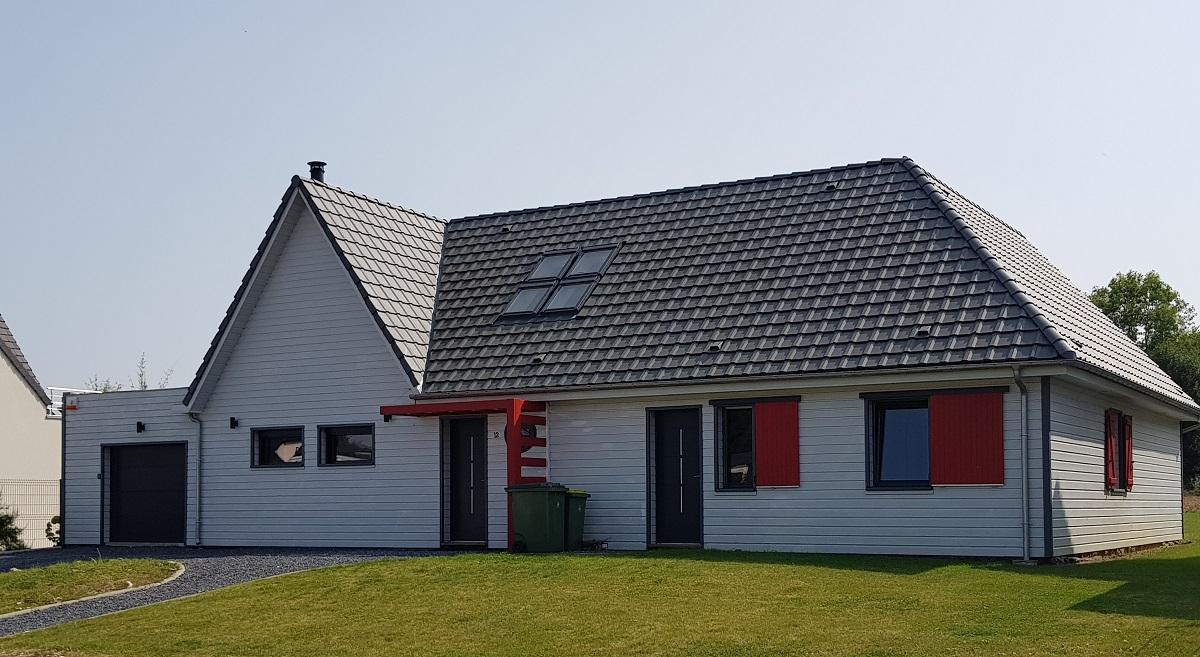 Construction d'une maison en ossature bois - Defi Énergies - Constructeur de maison en ossature bois