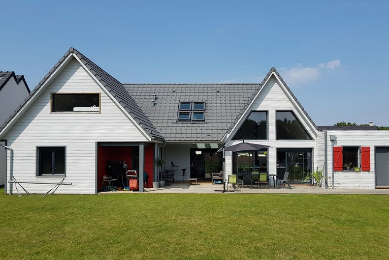 Construction maison en ossature bois - Defi Énergies - Constructeur de maison en ossature bois